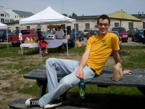 Tom at the Farmer\'s Market